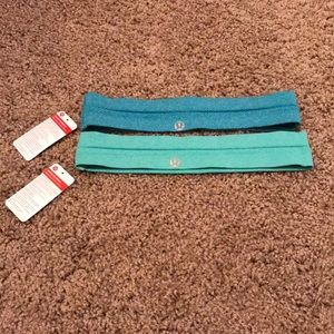 Bundle of 2 Lululemon swiftly headbands